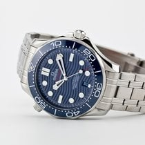 Omega Seamaster Diver 300 M Steel 42mm Blue No numerals United States of America, Virginia, Williamsburg