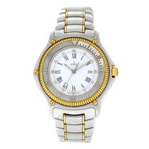 Ebel Discovery Gold/Steel 38mm White Roman numerals United States of America, New York, New York