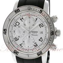 Hermès Clipper Steel 44mm White Arabic numerals United States of America, New York, New York