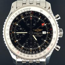 Breitling Navitimer World occasion 46mm Acier