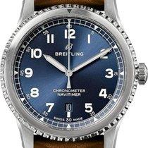 Breitling Navitimer 8 Steel 41mm Blue Arabic numerals United States of America, California, Moorpark