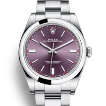 Rolex Oyster Perpetual 39 Steel 39mm No numerals United Kingdom