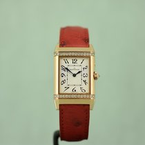 Jaeger-LeCoultre Reverso Duetto Duo Yellow gold 40mm Silver