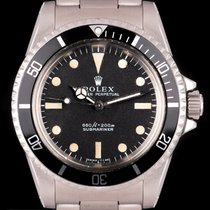 Rolex 5514 Steel 1977 Submariner (No Date) 40mm pre-owned