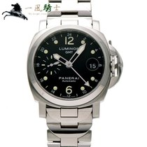 Panerai Luminor GMT Automatic Stal 40mm Czarny