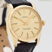 Rolex Oyster Perpetual 34 Yellow gold 34mm Champagne No numerals United States of America, California, Beverly Hills