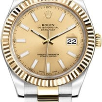 Rolex Datejust II Gold/Steel 41mm Champagne Roman numerals United States of America, California, Newport Beach