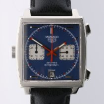 TAG Heuer CAW211A Steel 2013 Monaco Calibre 11 39mm pre-owned
