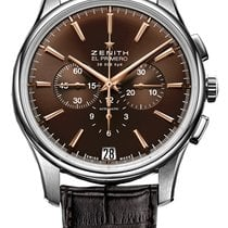 Zenith Captain Chronograph Steel 42mm Brown United States of America, Florida, Sunny Isles Beach