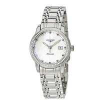 Longines Saint-Imier Steel Mother of pearl United States of America, New York, New York