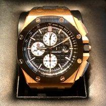 Audemars Piguet Royal Oak Offshore Chronograph Rose gold 44mm Black No numerals Singapore, singapore