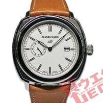 JeanRichard 1681 Staal 44mm Wit