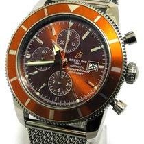 Breitling Superocean Héritage Chronograph Stahl 46mm Braun Keine Ziffern Deutschland, Detmold