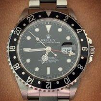 Rolex GMT-Master Acier 40mm Noir Sans chiffres France, Nice
