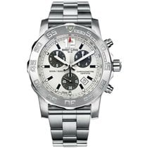 Breitling Colt Chronograph II Steel 44mm Silver