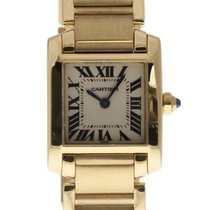 Cartier Tank Française W50002N2 2005 pre-owned