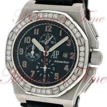 Audemars Piguet Or blanc Remontage automatique Noir Arabes 48mm nouveau Royal Oak Offshore Chronograph