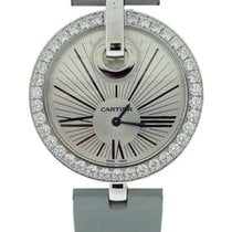 Cartier Captive De Silver Dial 18K Solid White Gold Diamonds