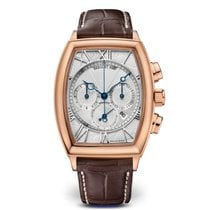 Breguet Rose gold Automatic Silver Roman numerals 35mm new Héritage