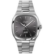 Glashütte Original Seventies Panorama Date Steel 40mm Grey United States of America, Pennsylvania, Holland