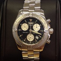 Breitling Colt Chronograph A73380 Black Dial - Box & Papers 2011