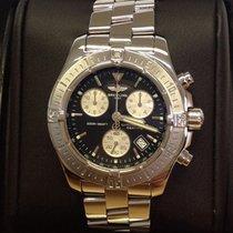 Breitling Colt Chronograph A73380 Black Dial - Box &...