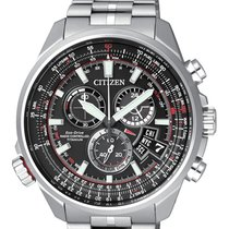 Citizen BY0120-54E CITIZEN THE PILOT Radiocontrollato 45mm ,Titanio new