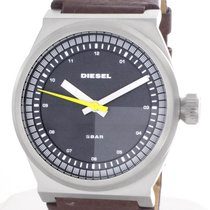 Diesel DZ1562 Mens Black Dial NSBB Slate Brown Watch