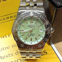 Breitling Starliner Green M.O.P Dial - Box & Papers 2007