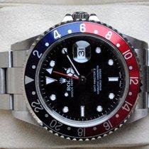 Rolex [SERVICE+near-NOS] GMT Master II - K -PEPSI- 2002