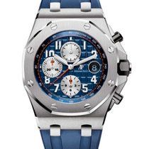 Audemars Piguet Royal Oak Offshore Chronograph Steel 42mm Blue Arabic numerals United States of America, New York, NEW YORK