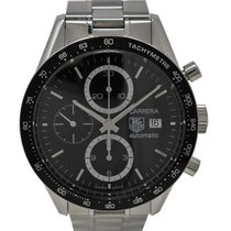 TAG Heuer Carrera Calibre 16 CV2010-3 Automatic Stainless...