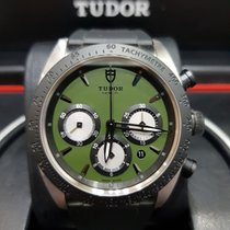 Tudor 42mm Automatic 2016 pre-owned Fastrider Chrono Green
