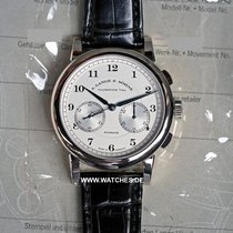 A. Lange & Söhne 1815 Flyback Chronograph White Gold Silver...