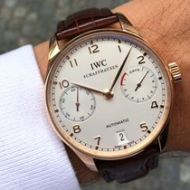 IWC Portuguese Automatic Rose gold 42.3mm Silver Arabic numerals