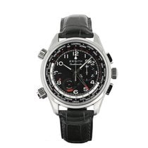 Zenith Steel Automatic 45mm pre-owned El Primero Doublematic