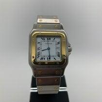 Cartier Santos Galbée tweedehands 29mm Goud/Staal