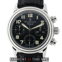 Blancpain Léman Fly-Back Steel 33mm Black Arabic numerals United States of America, New York, New York