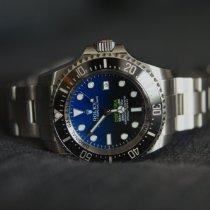 Rolex Sea-Dweller Deepsea Stahl 44mm Schwarz Keine Ziffern Schweiz, Luzern