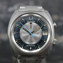 Omega Memomatic Steel 41mm Blue No numerals