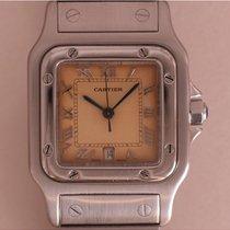 Cartier Santos Galbée Steel 30mm Roman numerals