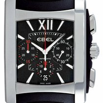 Ebel Brasilia Steel 38mm Black Roman numerals United States of America, New York, Monsey