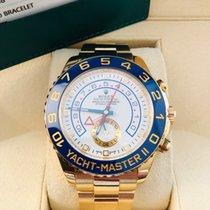 Rolex Yacht-Master II Gelbgold 44mm Weiß Keine Ziffern Deutschland, Köln
