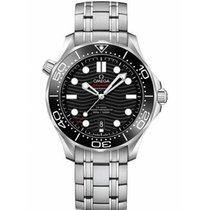Omega Seamaster Diver 300 M nuevo 2019 Automático Reloj con estuche y documentos originales 210.30.42.20.01.001