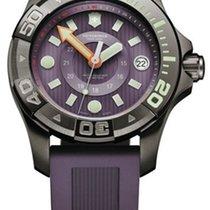 维氏瑞士军  Dive Master 500 钢 38mm 紫色