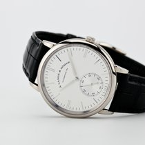 A. Lange & Söhne Saxonia White gold Silver United States of America, New Jersey, Oradell