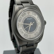 Rolex Oyster Perpetual 36 Acciaio 36mm Blu Arabo Italia, Milano