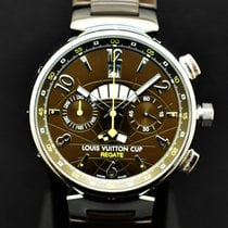 Louis Vuitton Steel 44mm Automatic Louis Vuitton Q1021 pre-owned