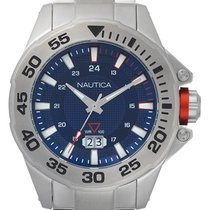 Nautica new Quartz Screw-Down Crown 44mm Steel