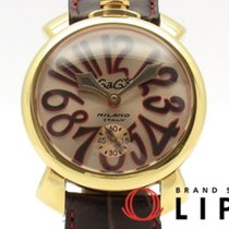 Gaga Milano 48mm Remontage manuel 5011.11S occasion